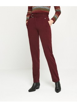 Pantalon largo ESSENTIAL Rojo