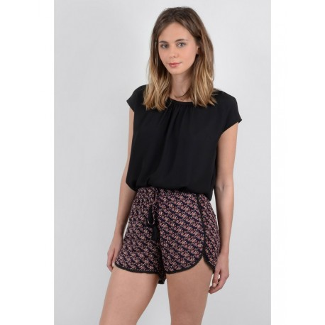 WOVEN SHORTS NAVY BLUE MOLLY BRACKEN