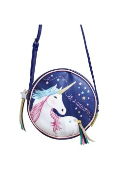 CANMINUN BOLSO MINI REDONDO UNICORNIO DISASTER DESINGS