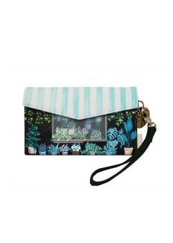 BILLETERA CLUTCH FLORISTERIA