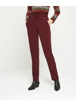 Pantalon largo ESSENTIAL Rojo