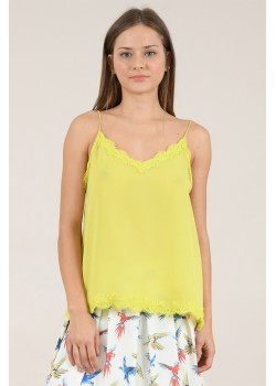 T1151E20 LADIES KNITTED CAMISOLE