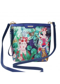 BOLSO MINI FRIDA TROPICAL