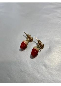 Pendientes fresas