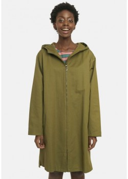 PARKA VERDE CAPUCHA SHOW YOUR MAGIC