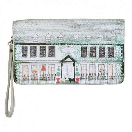 HOM MIN WI BOLSO MINI GRIS WISTERIA HOUSE DISASTER DESINGS