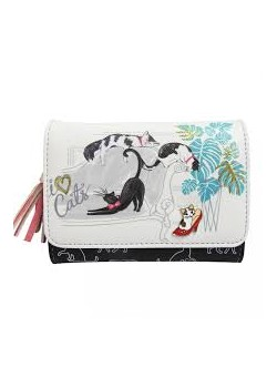 DISASTER DESIGNS MONEDERO GATOS-ILOVECATS